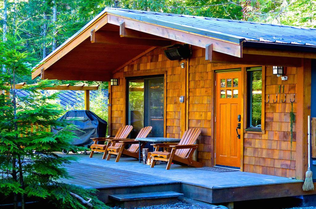 Ocean Kayak For Sale >> Port Renfrew Accommodation - Handsome Dan's Cottages